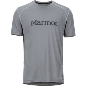 Marmot Windridge SS Shirt with Graphic Men, cinder